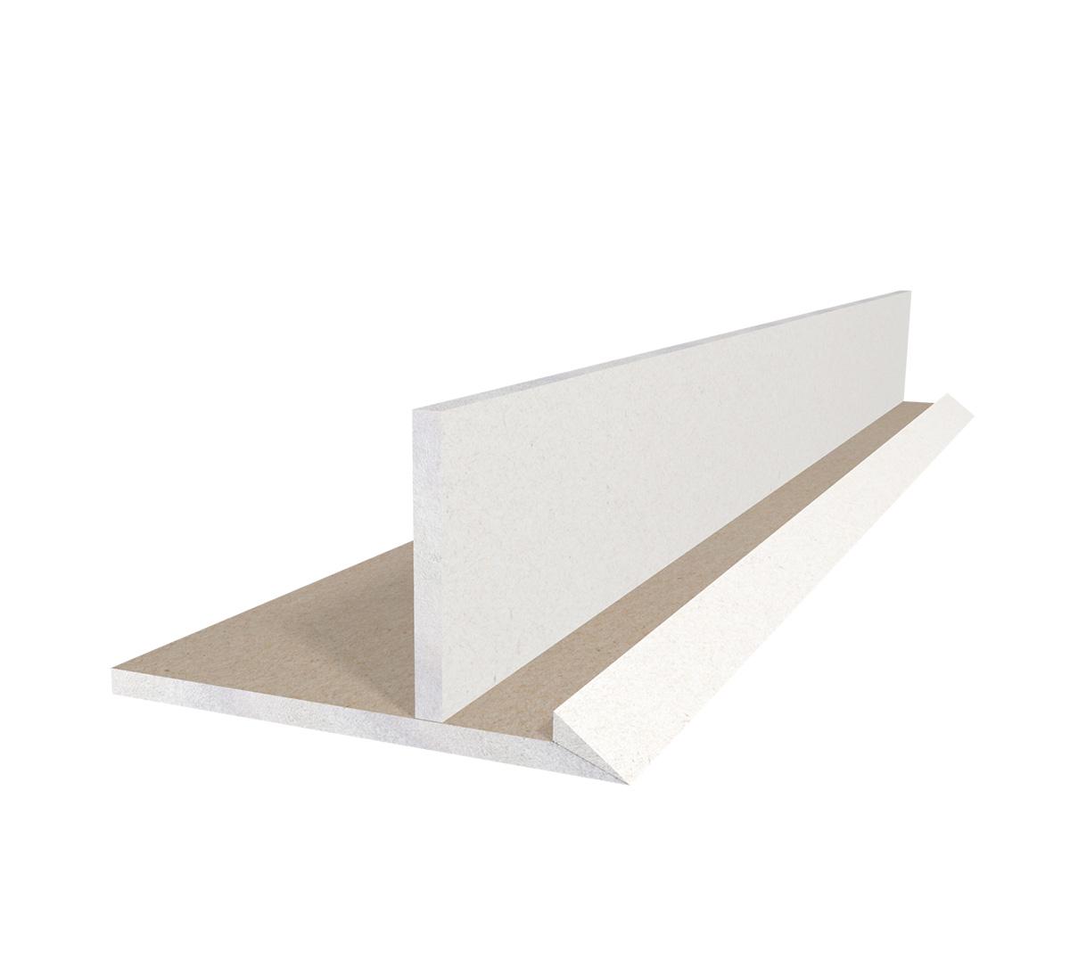 Półka Sufitowa Na Oświetlenie Led 45 Slim Szer 25cm