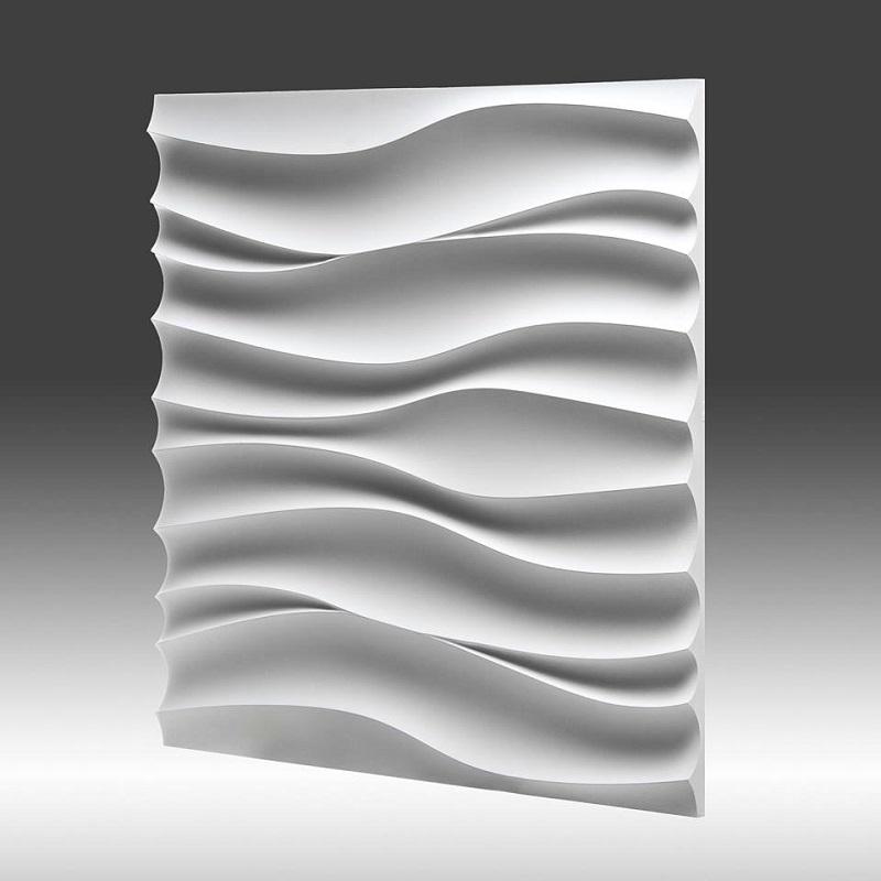 Dekoracyjny Panel ścienny 3d Z Gipsu Model 1 50x50