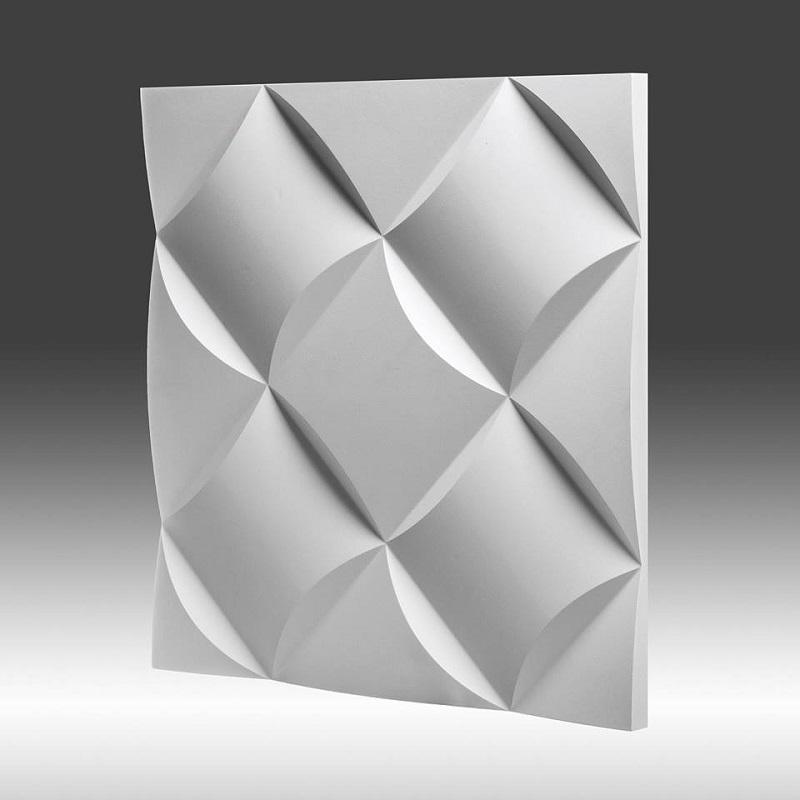 Dekoracyjny Panel ścienny 3d Z Gipsu Model 3 50x50