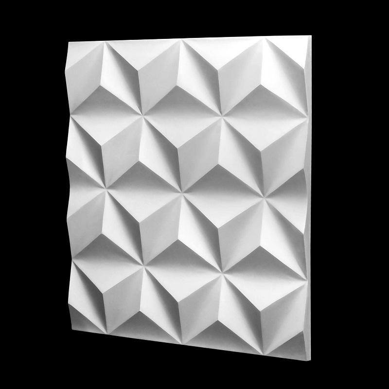 Dekoracyjny Panel ścienny 3d Z Gipsu Model 9 50x50
