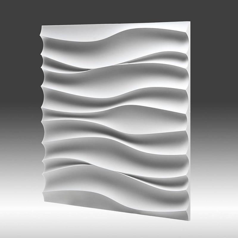 Dekoracyjny Panel ścienny 3d Z Gipsu Model 1 50x50 Sklep Flexgips