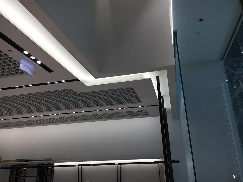 Półka Sufitowa Na Oświetlenie Led 45 Szer 70cm
